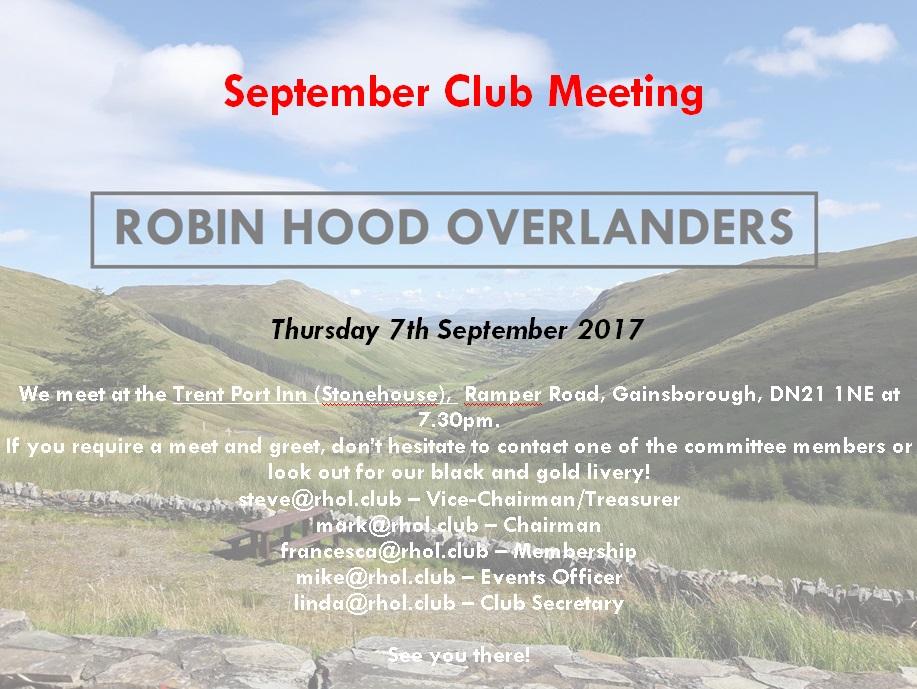 September Meet